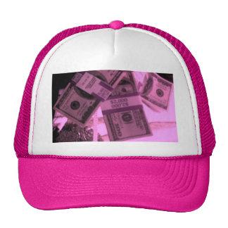PINK MONEY TRUCKER HAT