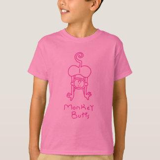 Pink Monkey Butts T-Shirt