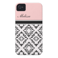 Pink Monogram Iphone Cases at Zazzle