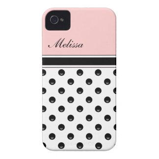 Pink Monogram iPhone Cases iPhone 4 Cases