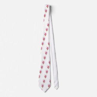 Pink Monster Ice Cream Cone Neck Tie