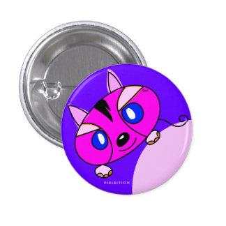 Pink Monster Pet Button