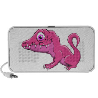 Pink Monster Mini Speakers