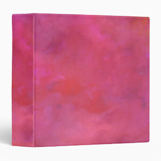 Pink Moody Watercolor Texture Binder
