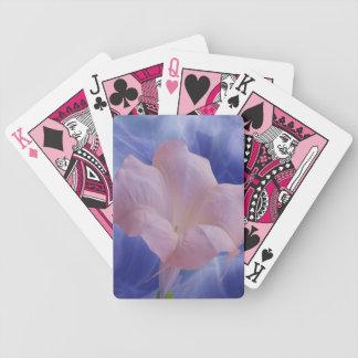 Pink Moon Flower Bicycle Card Deck