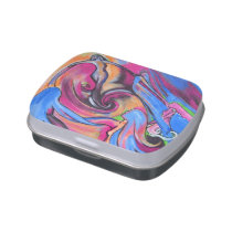 Pink Moon Lovelies pillbox or candy tin