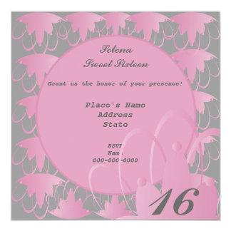 Pink Moon Sweet Sixteen Invitation-Customize.