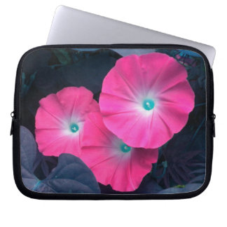 Pink Morning Glories Laptop Sleeve