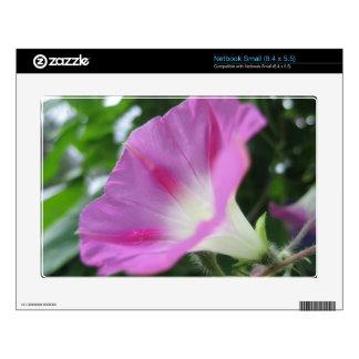 Pink Morning Glory Flower Netbook Skins