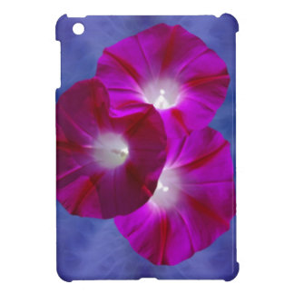 Pink Morning Glory iPad Mini Covers