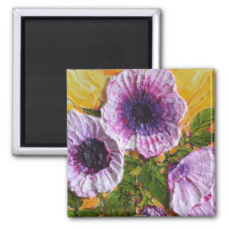 Pink Morning Glory Magnet