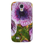 Pink Morning Glory Samsung Galaxy S4 Covers