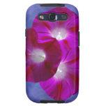 Pink Morning Glory Samsung Galaxy SIII Cases