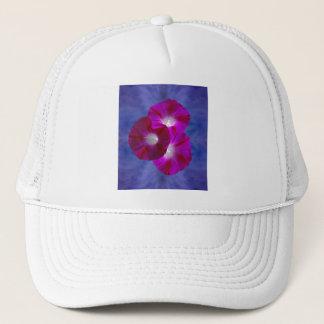 Pink Morning Glory Trucker Hat