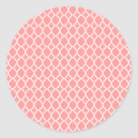 Pink Moroccan Tile Stickers