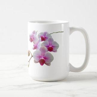 Pink Moth Orchids - Phalaenopsis Coffee Mug