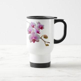Pink Moth Orchids - Phalaenopsis Travel Mug