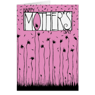 Pink Mother's Day 2 Greeting Card