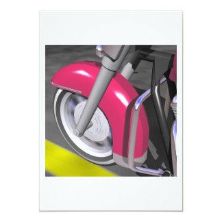 Pink Motorcycle Card