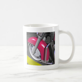 Pink Motorcycle Coffee Mug