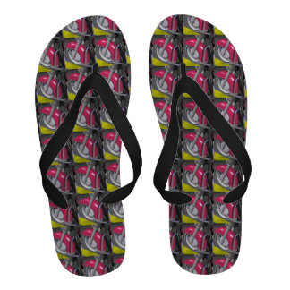 Pink Motorcycle Sandals