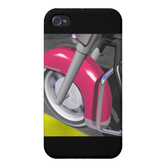 Pink Motorcycle Cover For iPhone 4