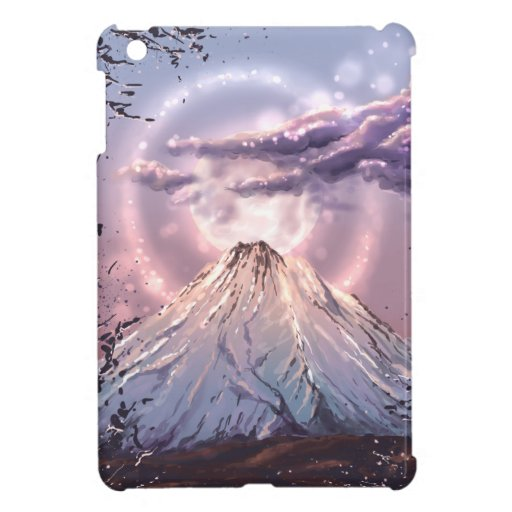 Pink mountain case for the iPad mini