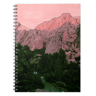Pink Mountain Note Books