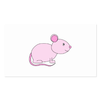 Pink Mouse. Business Card