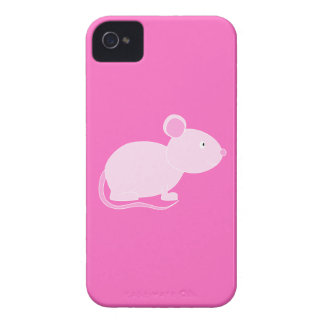 Pink Mouse iPhone 4 Cover