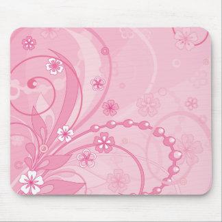 pink mouse mats