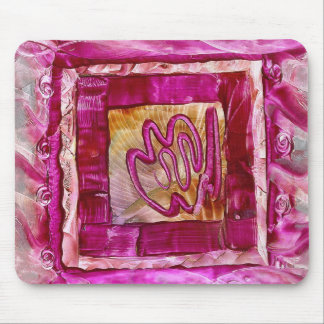 pink mousepad