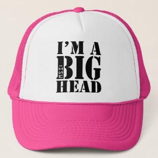 Pink MSI: I'm A Big Head Trucker Cap