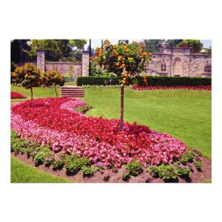 Pink Muir Gardens, Toronto, Ontario flowers Invite