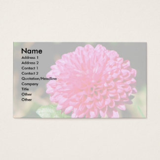 Pink Mum Business Card