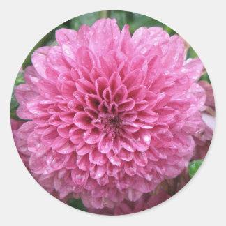 Pink Mum Round Sticker