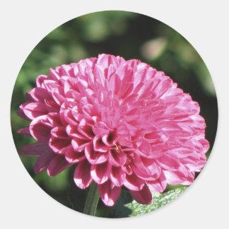 Pink Mum Classic Round Sticker