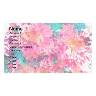 PINK MUMS Business Cards