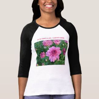 Pink Mums, By The Grace of God, I Survived Cancer T-Shirt