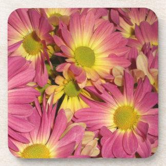 Pink Mums Cork Coasters