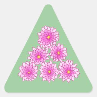 Pink Mums Flowers Chrysanthemums Stickers