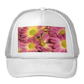 Pink Mums Hat