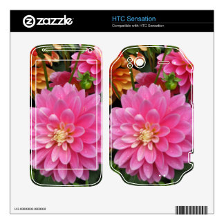 Pink Mums HTC Sensation Zazzle Skin HTC Sensation Decal