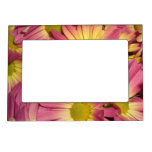 Pink Mums Magnet Picture Frame Magnetic Picture Frame