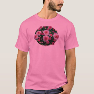 Pink Mums with Buds Mens T-Shirt