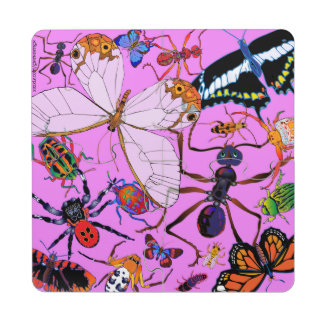 'Pink Munchies' Puzzle Coaster