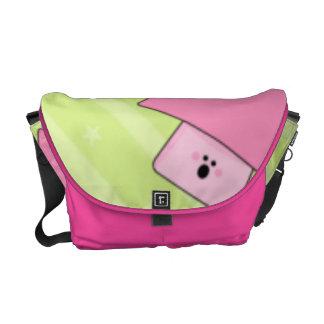 Pink Mushroom Commuter Bag