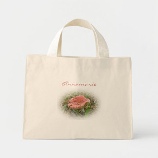 Pink Mushroom Mini Tote to Personalize