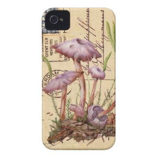 Pink Mushrooms Case-Mate iPhone 4  Case iPhone 4 Cases