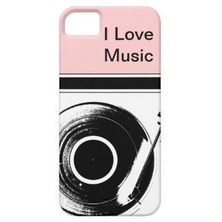 Pink Music iPhone Cases iPhone 5 Cases